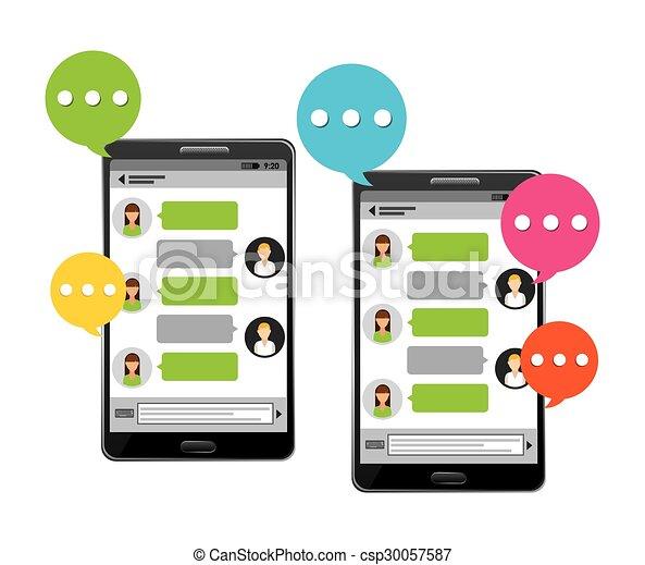 social media - csp30057587