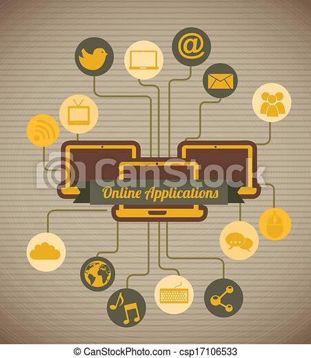 social media - csp17106533