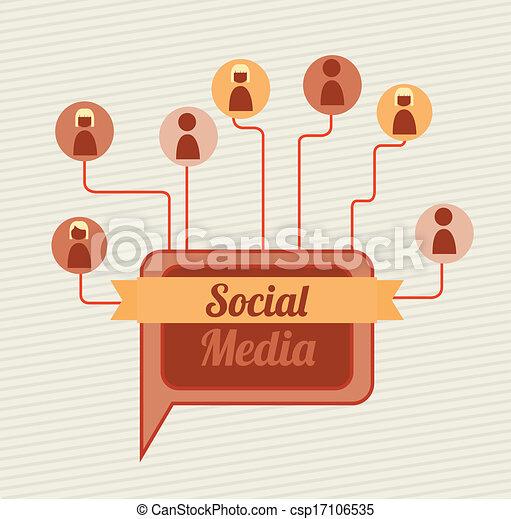 social media - csp17106535