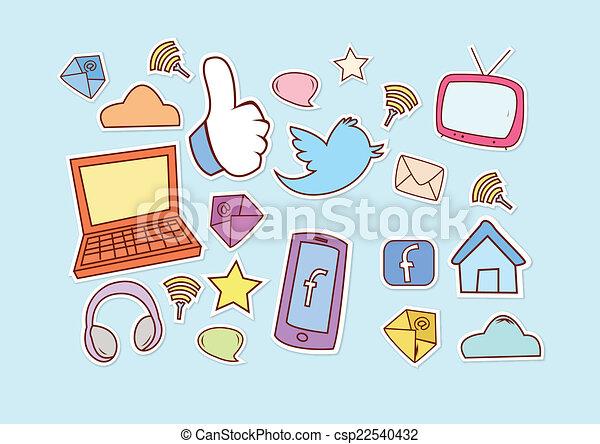 Social Media - csp22540432