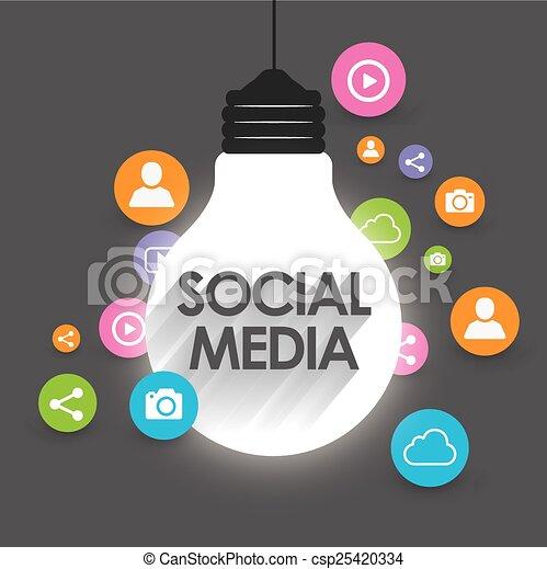 Social Media - csp25420334