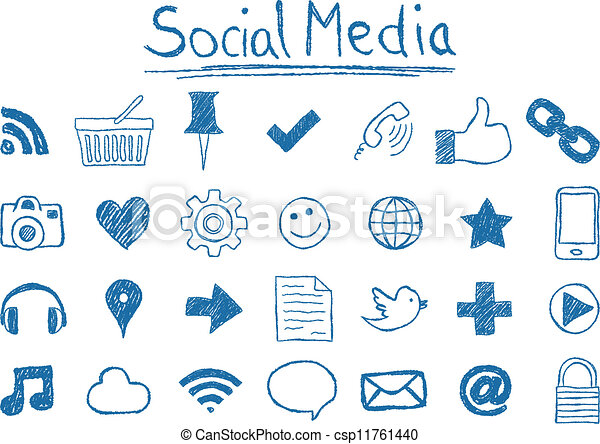 Social Media Icons - csp11761440