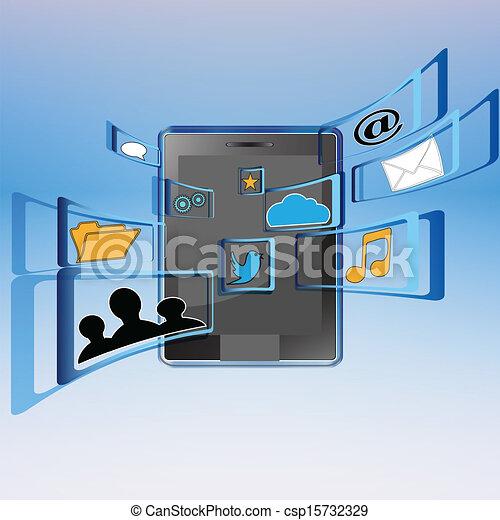 Social media - csp15732329