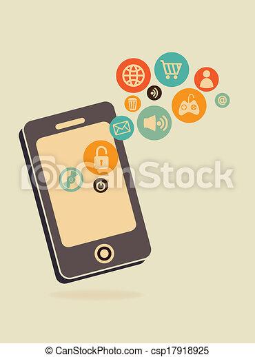 social media - csp17918925