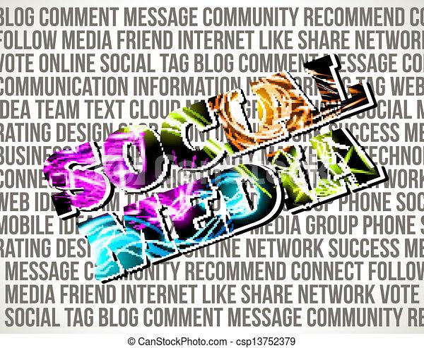 Social Media - csp13752379