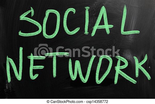 Social media - csp14358772