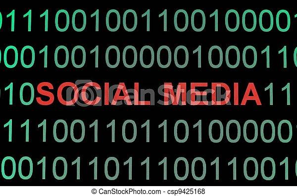 Social media - csp9425168