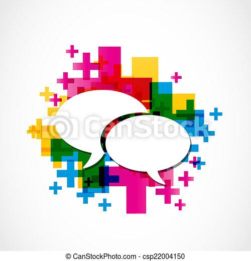 social media positive speech group - csp22004150