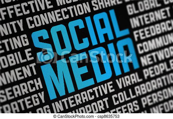 Social Media Poster - csp8635753