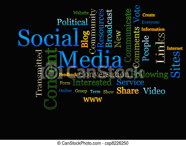 Social Media Related Text  - csp8226250