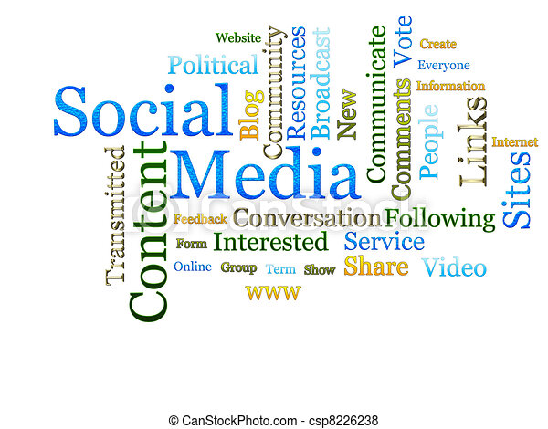 Social Media Related Text  - csp8226238