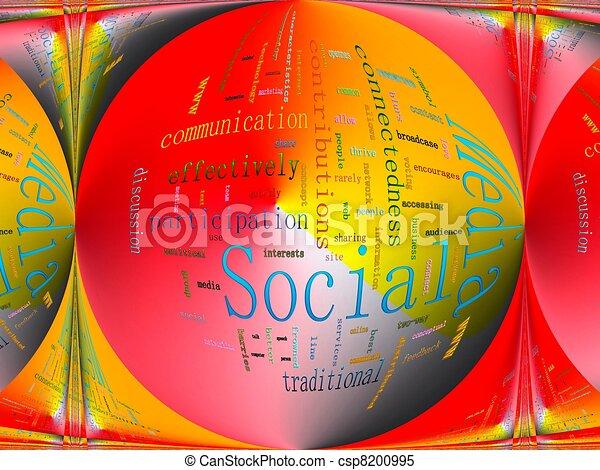 Social Media - csp8200995