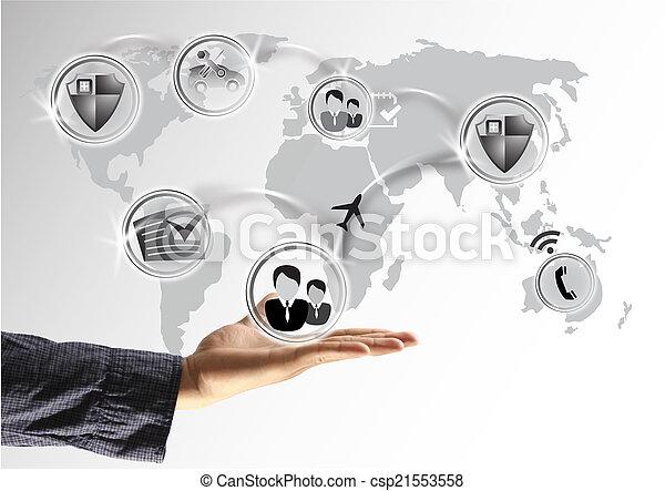 social media - csp21553558