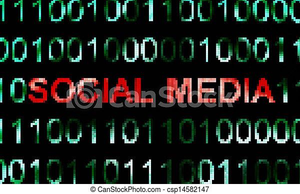 Social media - csp14582147