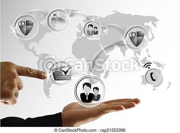 social media - csp21553396