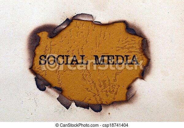 Social media - csp18741404