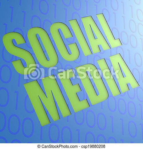 Social media - csp19880208