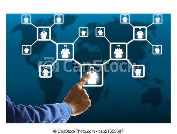 social media - csp21553607