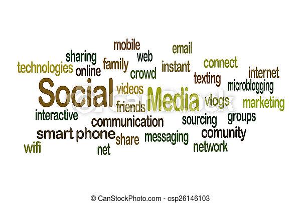 Social Media - csp26146103