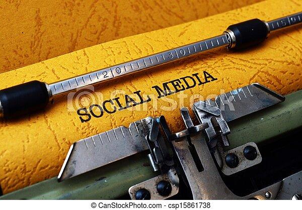 Social media - csp15861738