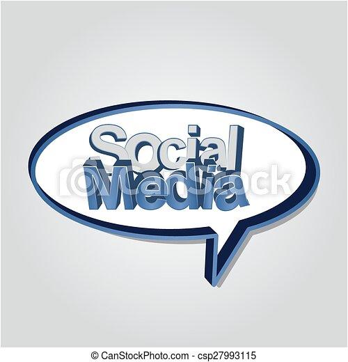 Social Media - csp27993115