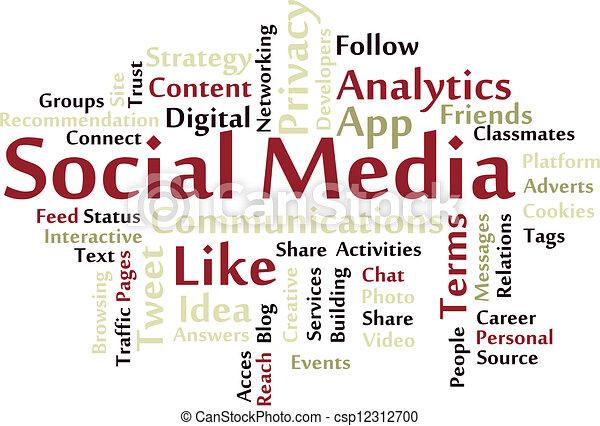 Social Media - csp12312700