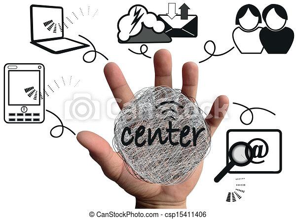 social media - csp15411406