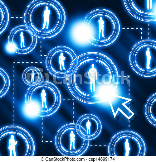 social network pattern - csp14899174