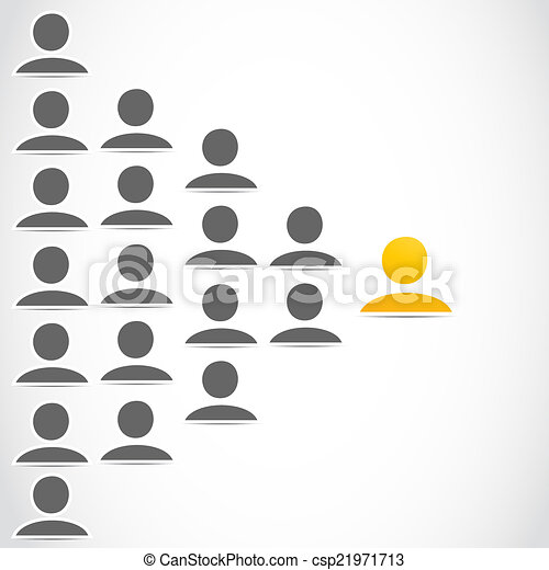 social network people group - csp21971713