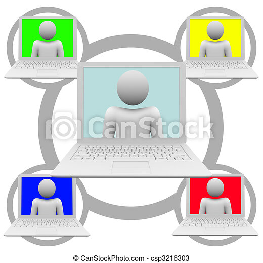 Social Networking on Laptop Computers - csp3216303