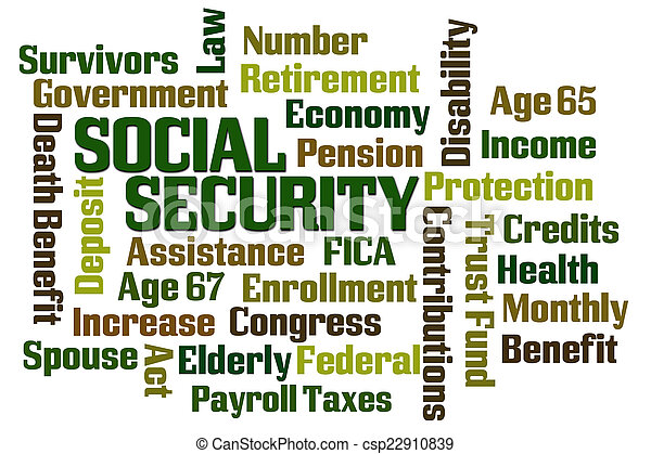 Social Security - csp22910839