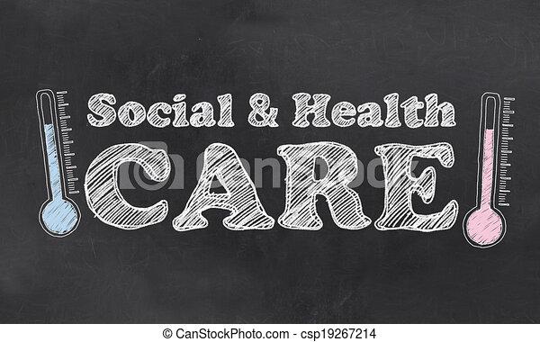 social, services médicaux - csp19267214