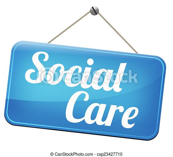 social, soin - csp23427710