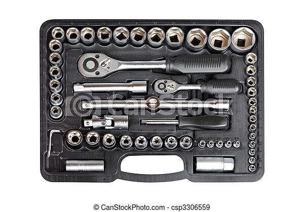 Socket wrench set - csp3306559