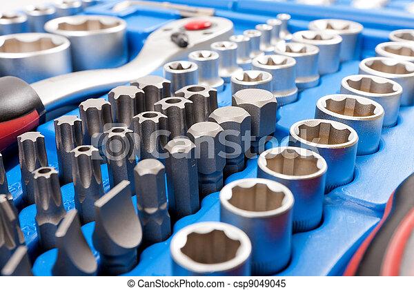 Socket wrench toolbox - csp9049045