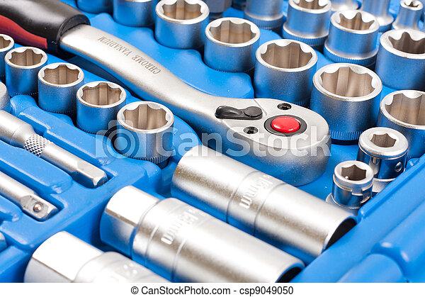Socket wrench toolbox - csp9049050