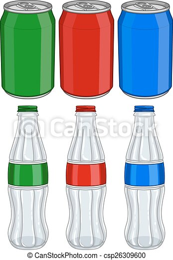 Soda Aluminium Cans Glass Bottles - csp26309600