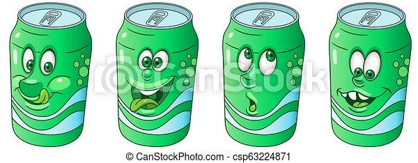 Soda can collection - csp63224871