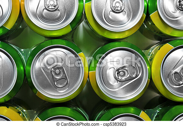 soda cans - csp5383923