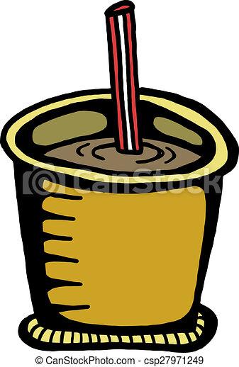 Soda Drink Clip Art - csp27971249