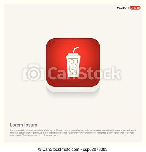 Soda drink icon - csp62073883