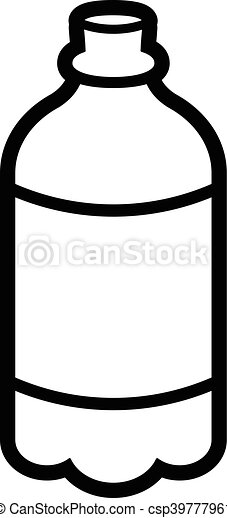 soda pop drink bottle vector clip art vector search drawings and rh canstockphoto com soda pop bottle clipart soda bottle clipart black and white