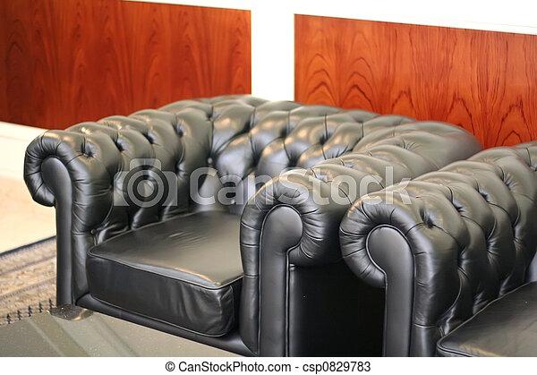 La sala de espera del sofá - csp0829783