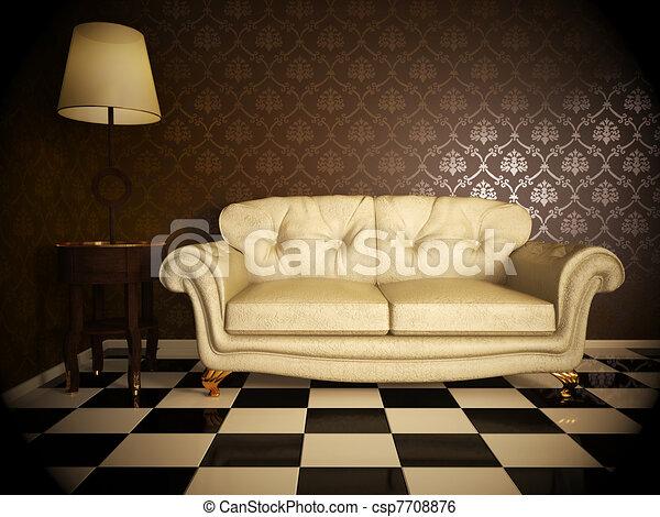 Sofa - csp7708876