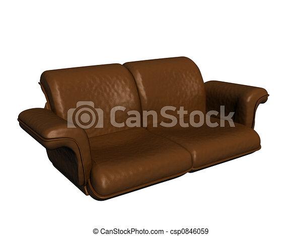 sofa 3d - csp0846059
