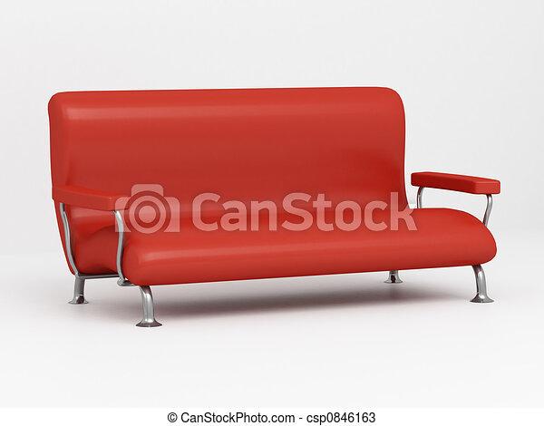 Sofa 3D - csp0846163