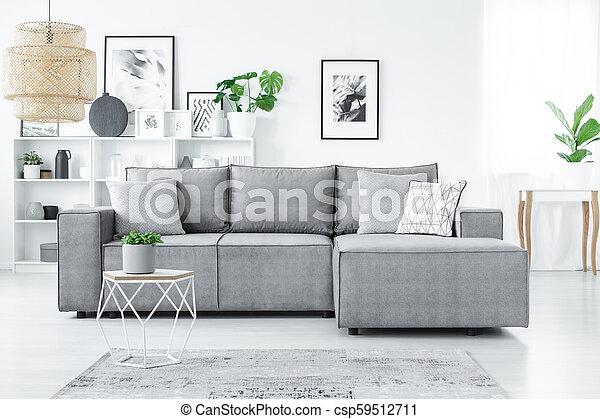 Sofa in living room