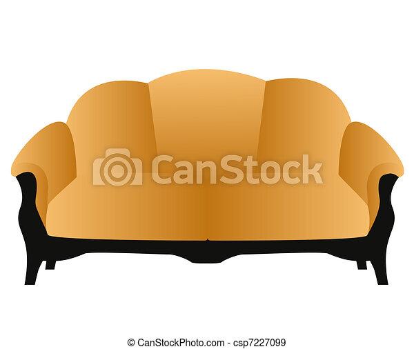 soft and comfortable home modern sofa - csp7227099