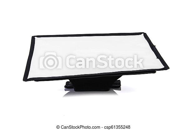 soft box isolated on white background - csp61355248