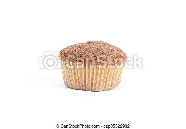 soft cake isolated on white background - csp35522932